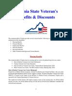 Vet State Benefits & Discounts - VA 2018