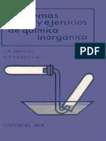 Problemas y Ejercicios de Química Inorgánica - S. N. Savitski & N. P. Tverdovski - 1ed