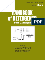 Handbook of Detergents Part C - Analysis