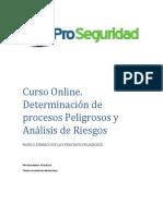 Marco Legal de Los Procesos Peligrosos y Analisis de Riesgos