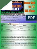 Summer Feeding 2018 Flyer
