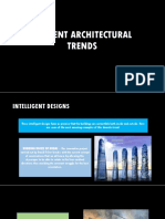 Current Architectural Trends