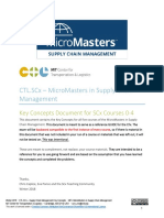 MITx MicroMasters SCM KeyConcepts