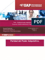 Finanzas Internacionales Paridad Del Poder Adquisitivo Semana 13