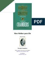 Oswald Chambers - Meu Melhor Para Ele Devocional