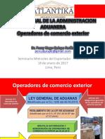 Operadores de Comercio Exterior
