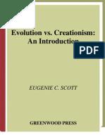 Eugenie Scott - Evolution vs Creationism
