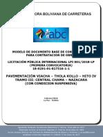 Modelo Base de Contrataciones