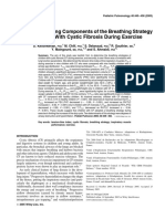 2005 - Timing and Driving Components of the Breathing Strategy in Children With Cystic Fibrosis During Exercise - Pediatric Pulmonology