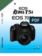 Manual Canon EOS Rebel T5i 700D