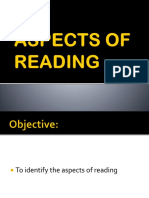 Aspects of Reading