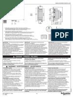 1606367 01 11 A03 Instruction Sheet