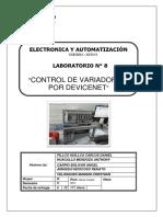 Laboratorio - Variador de Velocidad AC