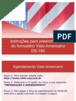 Instruções para preenchimento do formulário de Visto Americano - GTI Viagens e Turismo