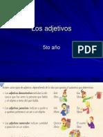 Los Adjetivos - powerpoint