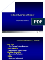Indian Business History - Madhukar Shukla, XLRI Jamshedpur