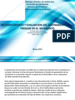 Reconocimiento y Evaluacion Del Agotamiento de La Presion en El Yacimiento