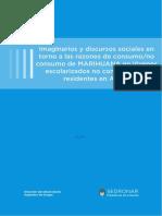 imaginarios y discursos sociales en torno a las razones de consumo/no consumo de MARIHUANA