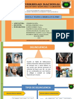 Diapositivas Sobre Delincuencia y Politica Criminal en El Perú