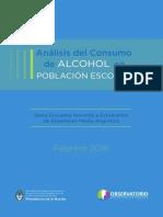 Informe Consumo Alcohol en Escolares