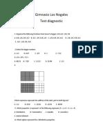 Test Diagnostic