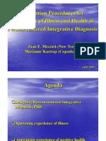 diagnóstico centrado en la persona - mezzich y kastrup