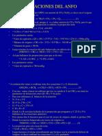 Ecuaciones Del Anfo