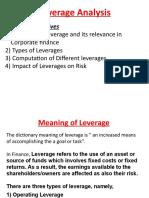 Leverage Analysis