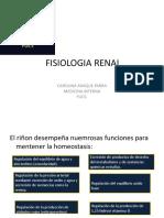 Fisiologia Renal Presentación