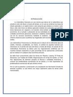 Investigacion Matemaática Financiera
