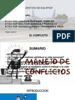 Conflicto Ptt