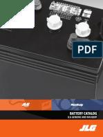 JLG Battery Catalog