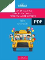 Guia Didactica Valores Tercer Grado 2014