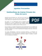 Inquietudes contribuyentes sin fines de lucro (23-dic-11).pdf