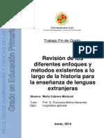 Enfoques y Metodos en La Enseñanza de Lenguas Extranjeras