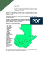 Geografía de Guatemala...