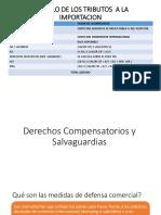 Derechos Compensatorios y Salvaguardias