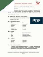 1er Informe de Pcd de Congalla