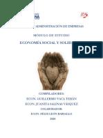 Modulo Economia Social y Solidaria Jsv-gvt-flb-ups Abril-2018