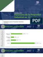2. Panorama PI en Colombia - Estadisticas 2017 (SIC)