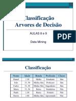 Classificação-ArvoreDecisao