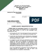 Vestil Compliance