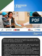 Susalud - Encuesta Satisfaccion en Servicios de Salud 2014