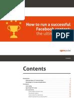 Run Successful Facebook Contest eBook