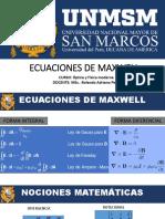Ecuaciones de Maxwell