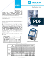 Guide to Selecting a Particle Counter for Cleanroom Certification