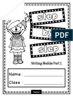Step by Step Writing Module Part 1