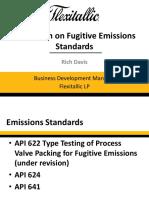 Discussion on Fugitive Emissions Standards