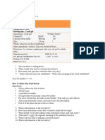 Daily Test Label and Procedure Text