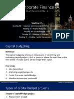 Corporate Finance LC 180308